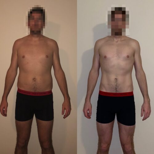 metabolic performance protocol before and after progress