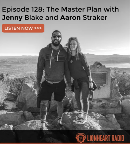 LionHeart Radio: The Master Plan with Jenny Blake and Aaron Straker
