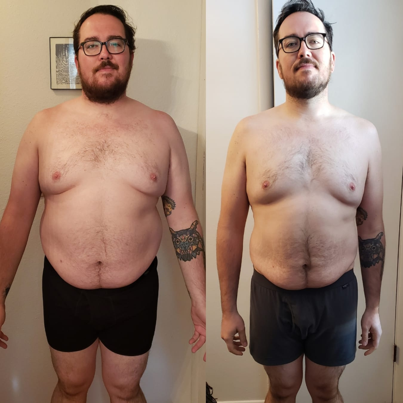 metabolic performance protocol fat loss before and after progress photo